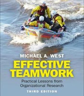 Effective Teamwork: Practical Lessons From Organizational Research (3rd Edition) PDF