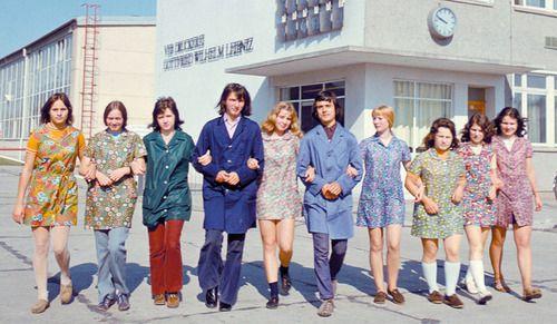 Mode in der DDR 1970's