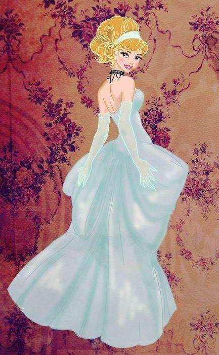 Cinderella cartoon illustration | Disney | Pinterest ...