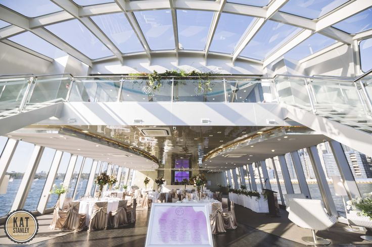 Whether you are holding your wedding due the day or in the evening, the views and photo opportunities are breakthtaking on board MV EPICURE I   Photography by Kat Stanley Photography