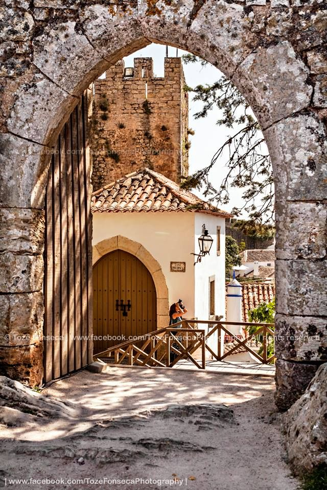 Óbidos, walled town and castles #Portugal