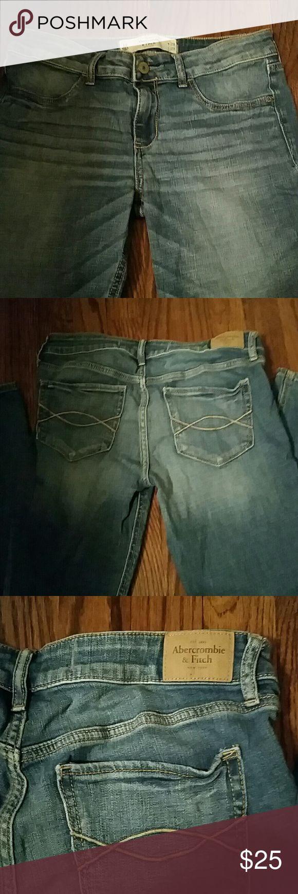 Abercrombie & Fitch Skinny Jeans Sz6 Abercrombie & Fitch Skinny Jeans Sz6 Abercrombie & Fitch Jeans Skinny