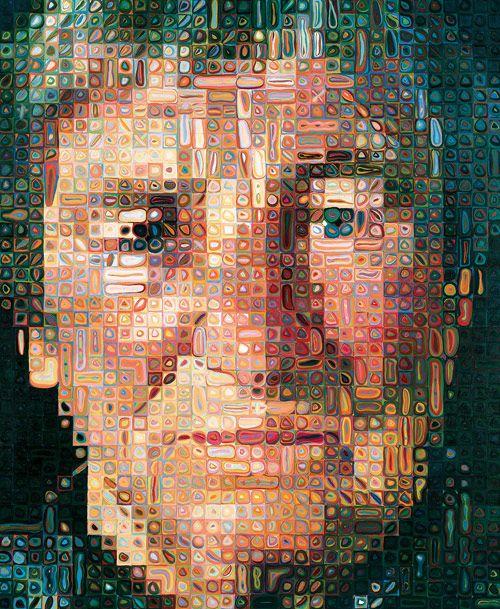 Chuck Close, Agnes, 1998   The Doris & Donald Fisher Collection @SFMOMA