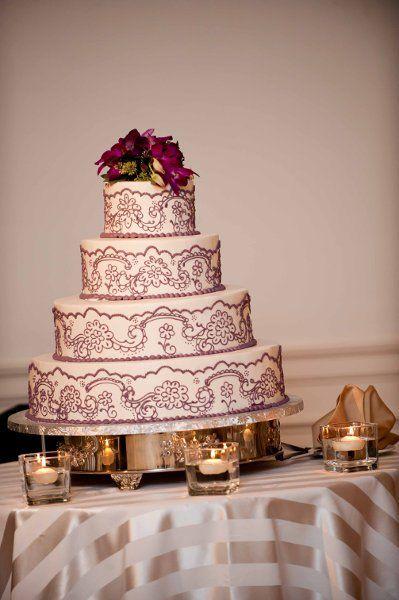 Weddings Wedding Cakes Photos on WeddingWire Buttercream cake.