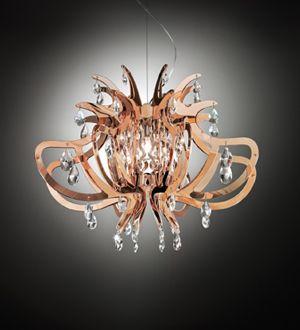 #Slamp #Lillibet Gold, #Silver and #Copper - #Suspension Lamp