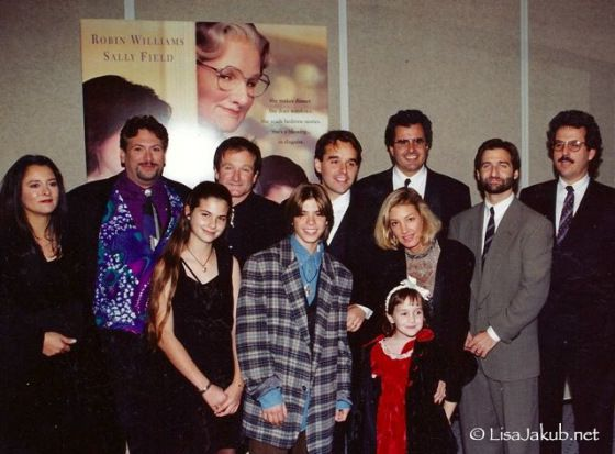"""Lisa Jakub - Why would we want Mrs. Doubtfire 2?  """"Maybe Mrs. Doubtfire had its time. In 1993. It seems greedy to try to squeeze more out of it. It's flattering that people want more, but maybe we can just be grateful for what already exists. Maybe we can take that deep breath and just be content with what is."""""""