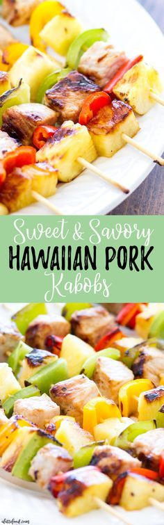 These quick and easy These quick and easy Hawaiian Pork Kabobs are full of bold flavors and come together in under 30 minutes! The perfect back-to-school meal for busy families! Recipe : http://ift.tt/1hGiZgA And @ItsNutella  http://ift.tt/2v8iUYW