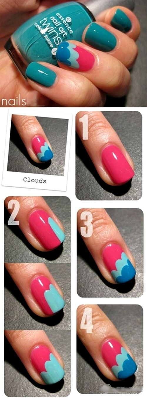best 10+ easy nail designs ideas on pinterest | easy nail art, diy