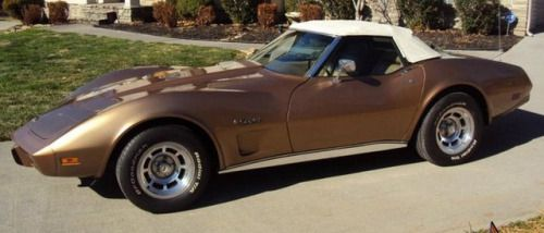 1975 Corvette Medium Saddle Metallic. One-year color.