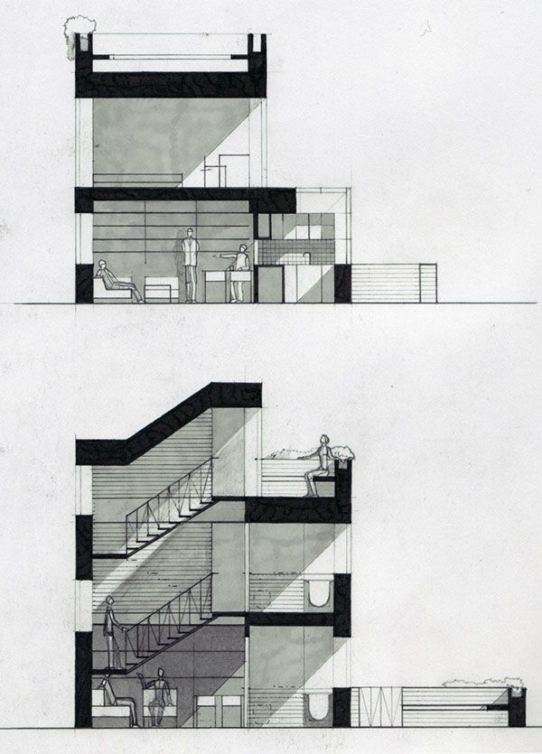 House Architecture Sketch best 25+ architectural sketches ideas only on pinterest