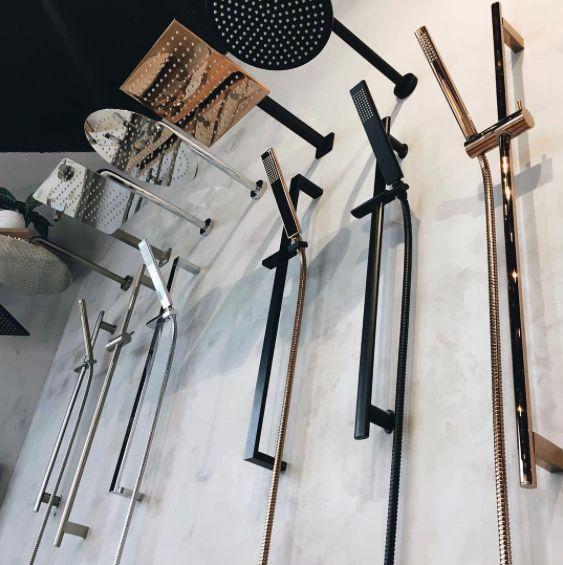 ABI Interiors - Our luxe range of shower tapware 🛁 . . . . . #bathroom #showers #rainhead #rosegold #matteblack #brushednickel inspiration #dream #dreambig #dreambathroom #living #live #home #simple #beautiful #minimal #clean #pretty #abiinteriors #bathrooms #interiors #goldcoast #australia