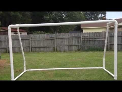 Best Soccer Goal Plan 12 x 6 PVC / How to build a PVC Soccer Goal... - YouTube
