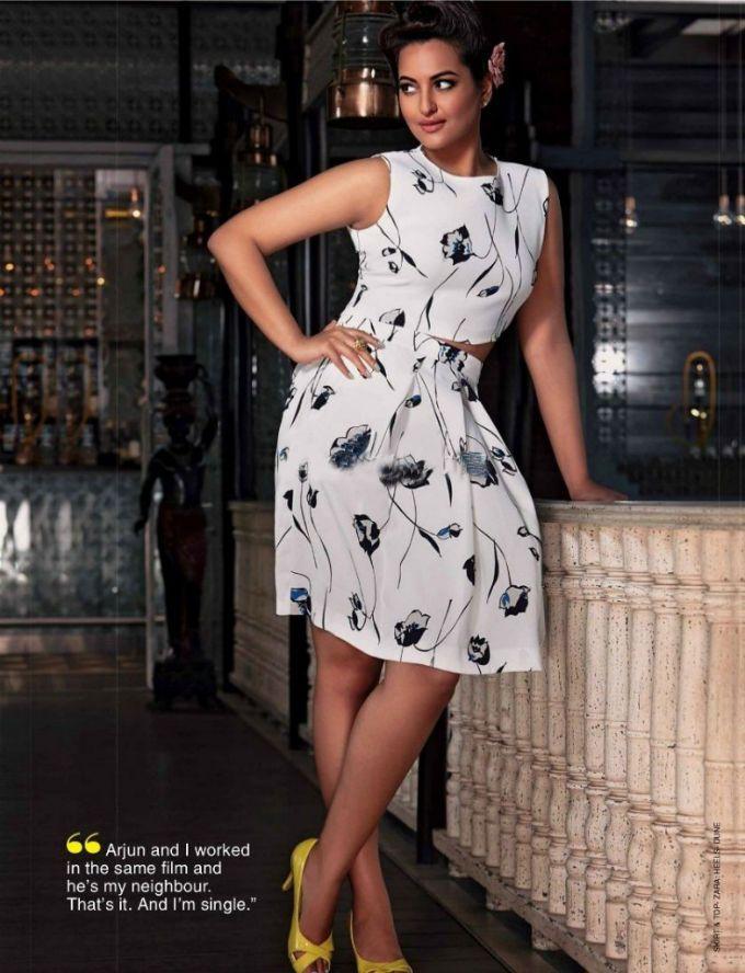 Sonakshi Sinha in #photoshoot for Star Dust Magazine.