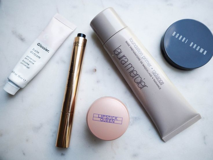 My everyday (almost non existing ) make-up routine http://gabriellalundgren.com/my-everyday-almost-non-existing-make-up-routine My favorite products muliti balmdotcom from Glossier bought at Netaporter, Ysl Touche Eclat number 1, Lip Balm from Listick Queen, Foundation Primer from Laura Mercier, Blush and lip creme from Bobbi Brown.
