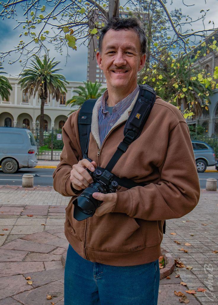 https://flic.kr/p/UFaRez   John con camara by Xime - XM1 - May 13 2017-2   Photo by Ximena Alfaro with her Fujifilm X-M1 camera paired with a FUJINON XC 16-50mm F3.5-5.6 OIS lens