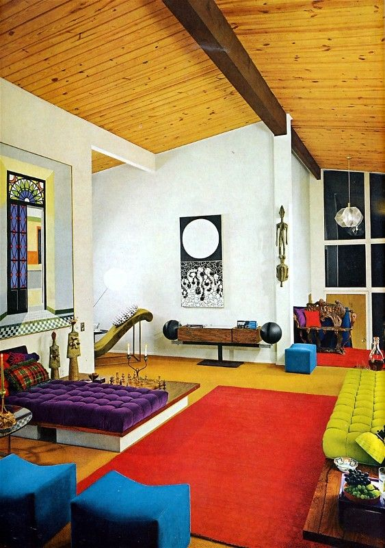 17 best images about 1970 39 s decor on pinterest for Modern retro interior