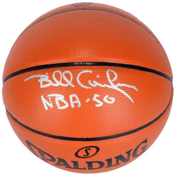 Billy Cunningham Philadelphia 76ers Fanatics Authentic Autographed Indoor/Outdoor Basketball with NBA 50 Inscription - $249.99