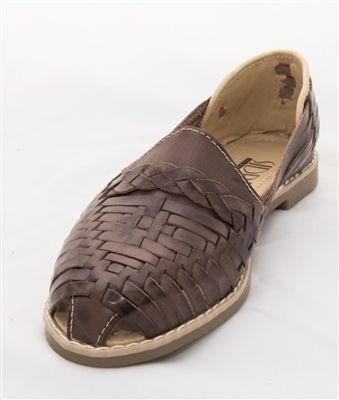 d9142a87b35c Women s Huarache Sandals - Colonial Dark Brown These Mexican Huarache  Sandals are the type of huaraches that you find the local