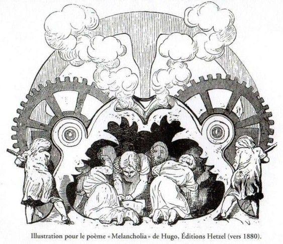 """Collège Mont-Miroir / 25120 Maîche - Histoire des arts 3ème : """"Melancholia"""" de Victor Hugo"""