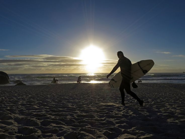 Surfers at Sunset by Lecia Nel on 500px
