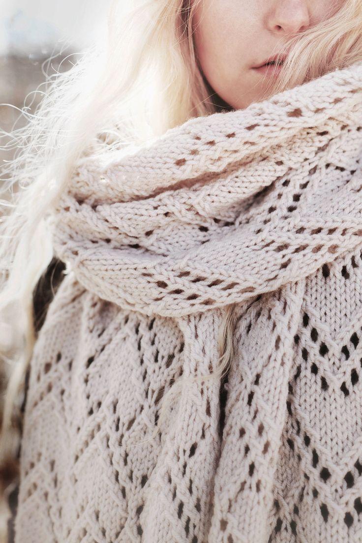 Waterbury Plaid Blanket Scarf Free Knitting Pattern This Design Is