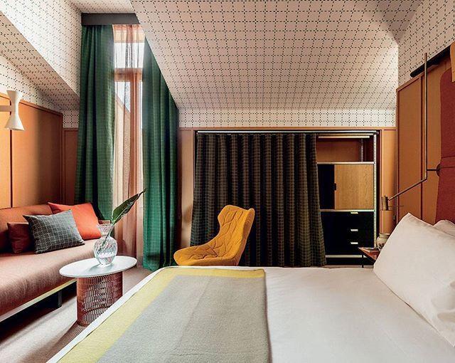 Vi Drmmer Os Vaek Til Milano Og Hotel Giulia Som Er Smukt Indrettet Af Designer