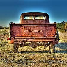 classic international pickup truck