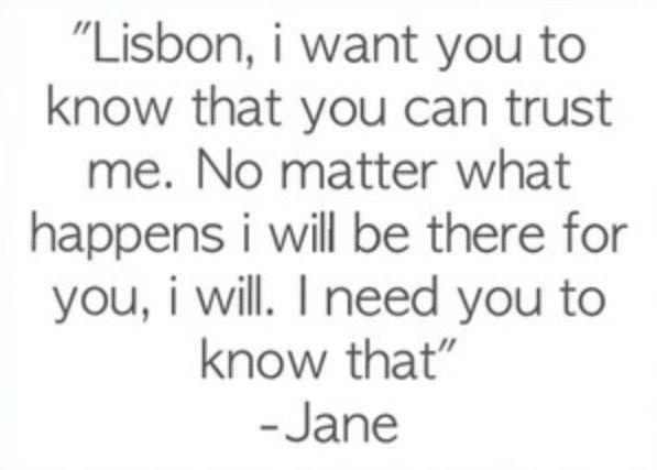 lisbon and jane relationship quotes