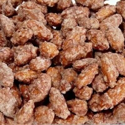 Crock pot cinnamon almonds