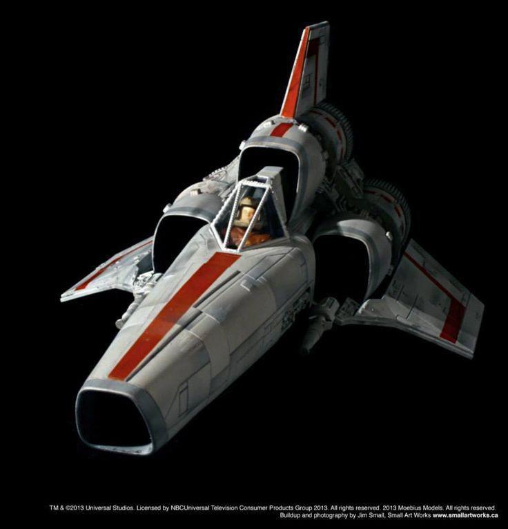 Battlestar Galactica 1978 Colonial Viper MK I 1/32 Scale Model Kit ...