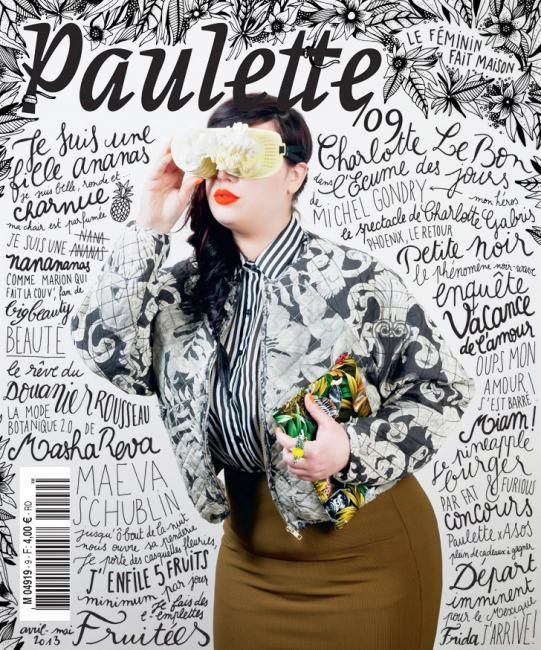 Paulette (France) magazine cover, issue april/may 2013 | Magazine Cover: Graphic Design, Typography, Photography |