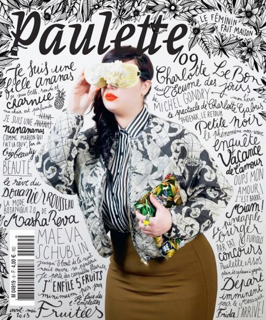 cover Paulette magazine (France)