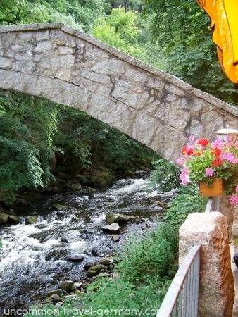New The little Harz Mountain village of Thale lies in a strikingly beautiful river gorge Once