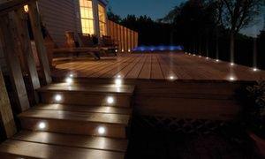 Groupon - 2, 4, 6 ou 8 spots solaires ronds LED encastrables, dès 7,90€ (jusqu'à 69% de réduction). Prix Groupon : 7,90€