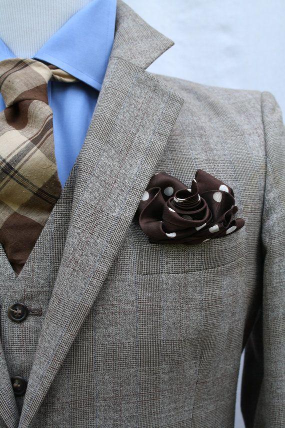 RESERVED Mens Vintage 3 Piece Plaid Suit Jacket Vest Pants Size 40 33W