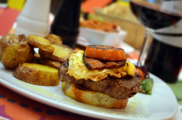 "Hovězí steak ""Monte Carlo"" / Beef steak ""Monte Carlo"""