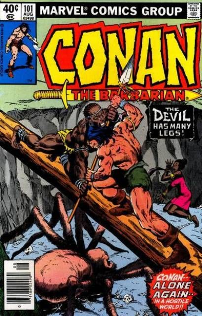 Conan the Barbarian #101 - The Devil Has Many Legs! (Issue)