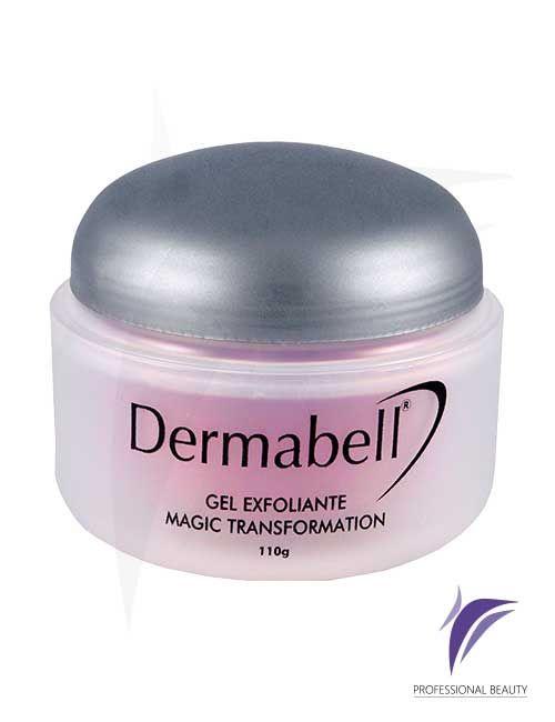 Gel Exfoliante Magic Trasnformation 110g: Gel exfoliante suave para pieles delicadas con extractos naturales que regeneran y limpian la piel.