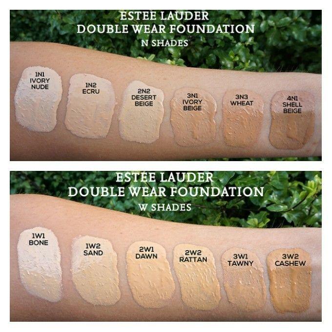 Estée Lauder Double Wear Nude Water Fresh Makeup- 1w1 Bone