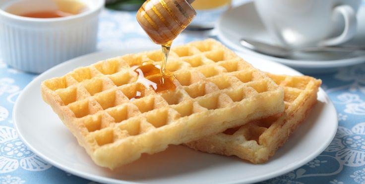 Umas das receitas preferidas dos celíacos e dos intolerantes é a panqueca americana e o waffer sem glutén!!!