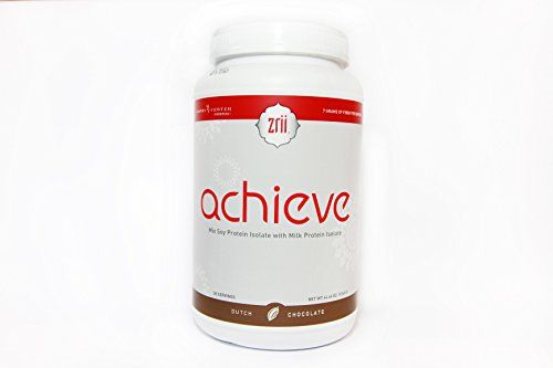 1x Zrii ACHIEVE Mix Soy Protein Isolate with Milk Protein Isolate Dutch Chocolate  4446 ounce  *** Be sure to check out this awesome product.