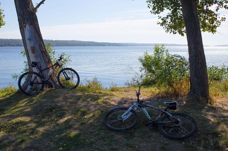 На велосипедах на берег Днепра. https://pokatuha.com