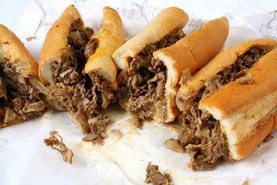 Philadelphia Cheesesteak Sandwiches (via MyBrownBaby.com)