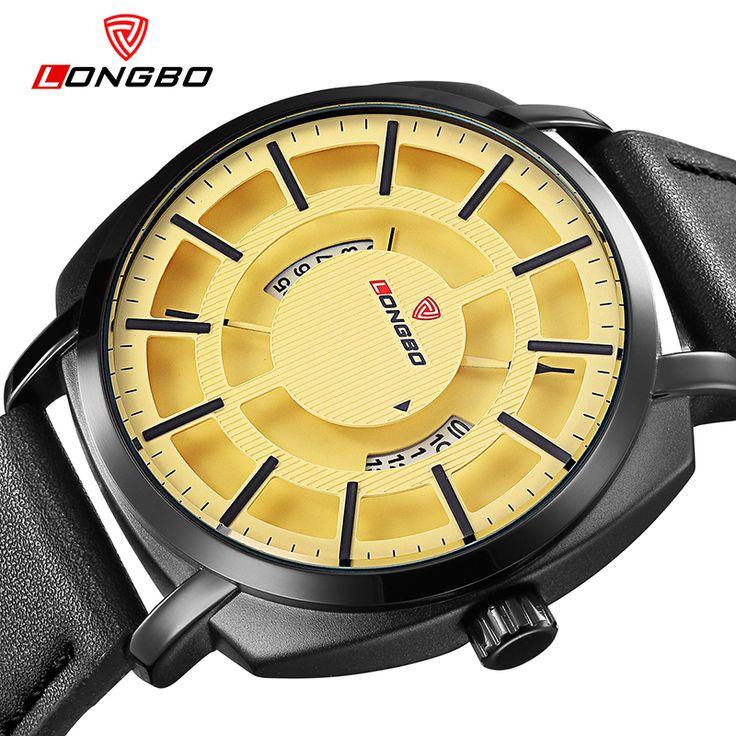 Longbo merk luxe casual hol dial unieke ontwerp horloges lederen datum kalender mannen vrouwen waterdichte horloges 3008 in  Chinese Lentefeest Vakantie Kennisgeving   beste Klanten,  bedankt voor uw ondersteunt en helpt in het verleden! Chines van quartz horloges op AliExpress.com | Alibaba Groep