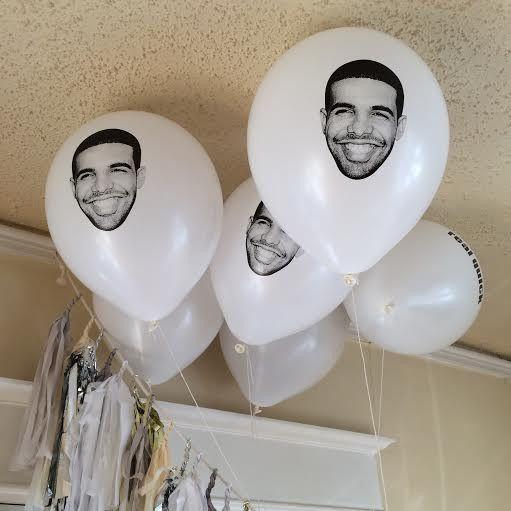 Drake balloons - pack of 5