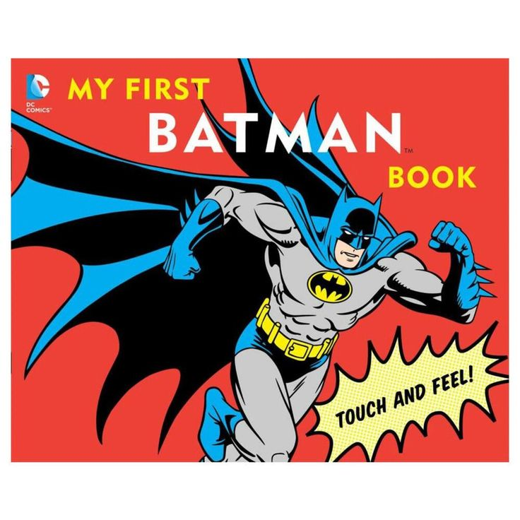 My First Batman Book: Touch And Feel (Hardcover) from Warner Bros.: The first book every comic book geek Dad will… #Movies #Films #DVD Video