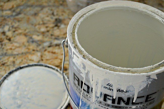 Store Leftover Paint Using Food Containers