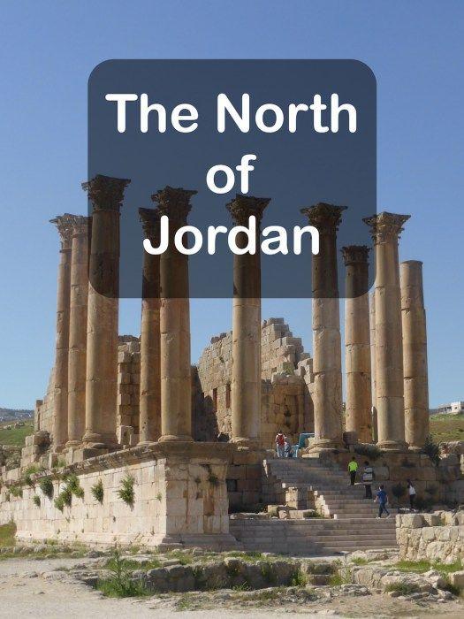 The north of Jordan - Temple of Artemis at Jerash pin.