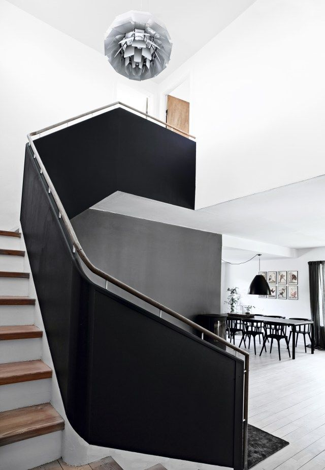 Color negro en la decoración, ¿por qué no?