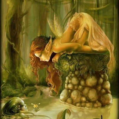 Even faeries can find wonder in nature and the world.